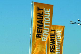 Steag Personalizat Renault Romania